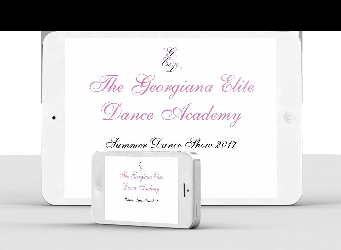 Summer Show 2017 - The Georgiana Elite Dance Academy
