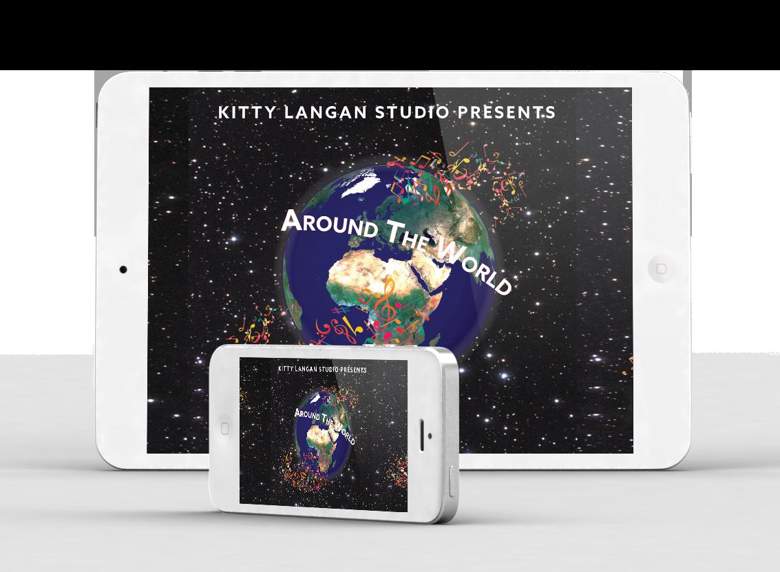 Around the World - Kitty Langan Studio