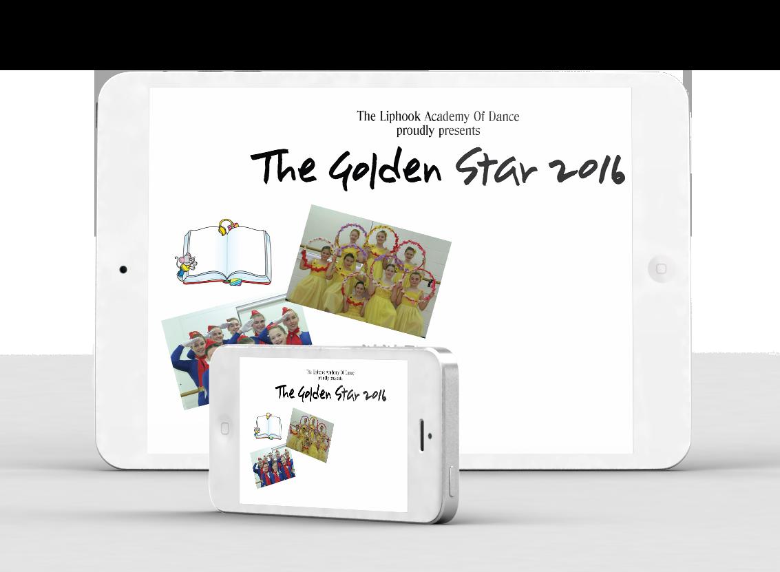 The Golden Star - Liphook Academy Of Dance