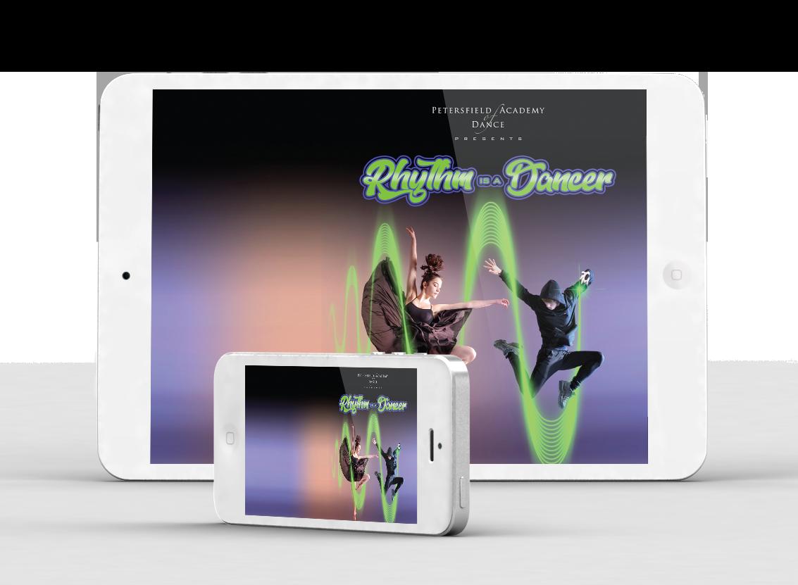 Rhythm is a Dancer Matinee - Petersfield Academy of Dance