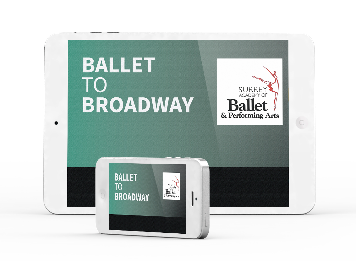 Ballet to Broadway - Surrey Academy of Ballet & Performing Arts